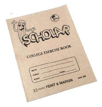 A4 College Exercise Book