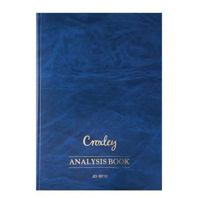 Analysis Book A4 JD6012