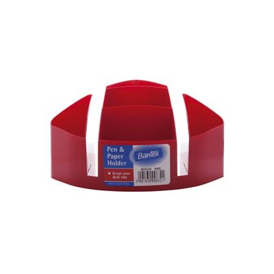 Bantex Desk Tidy & Desk Organiser, B9830 (Red)
