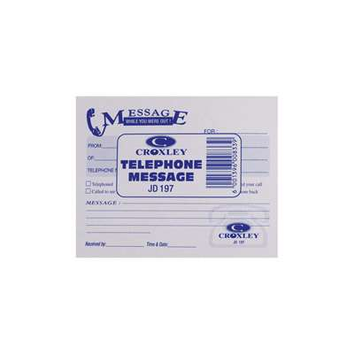 Tele Message Croxley Pad 105mmx142mm 45pg