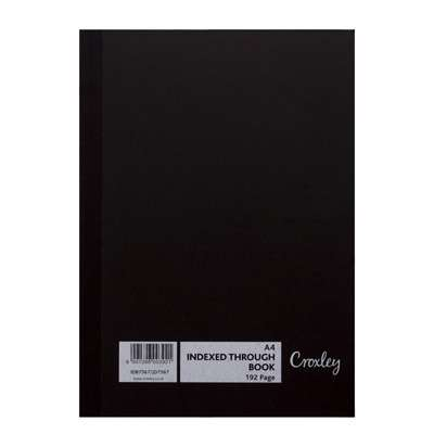 Index Book, A4, Feint Ruled, 192 Pages, JD7567