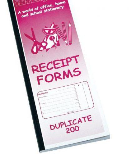 Interstat Duplicate Cash Receipt Book
