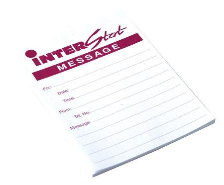 Tele Message Interstat Pads