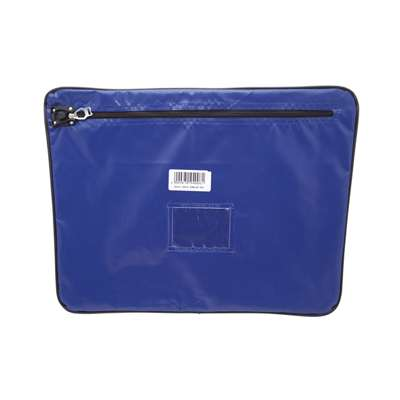 PVC Mail Bags, 300x400mm (Blue)