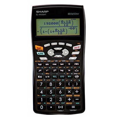 Sharp Scientific Calculator 12 Digit-338 Func