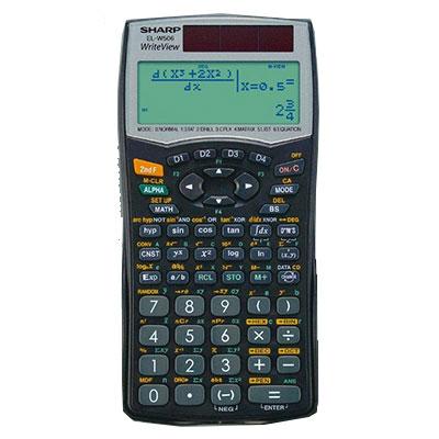 Sharp Write View Scientific Calculator EL-W50