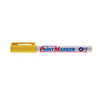 Artline 440 Paint Marker, Permanent Paint-like Ink, Fine Bullet Point (Yellow)