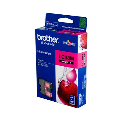 BROTHER Ink Lc-38M Magenta 260 Page Yield Lc3