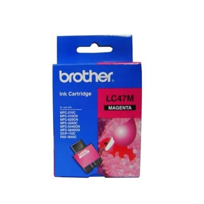 BROTHER Ink Lc-47M Magenta 400 Page Yield Lc4