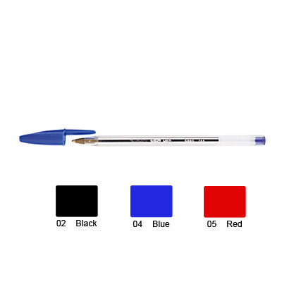 Bic Crystal Ballpen Medium (Red)