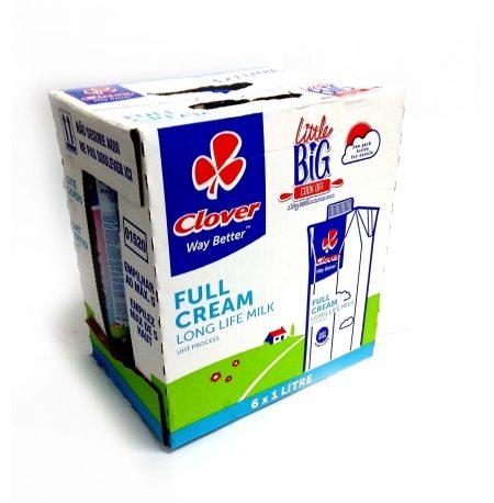 Clover Full Cream 1lt (6)