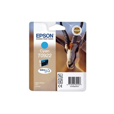 EPSON Cyan Ink Cart T09224A & ET010824A10