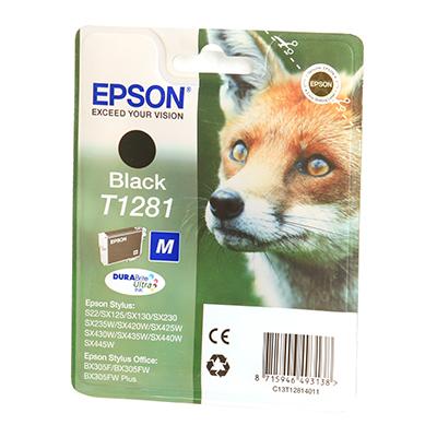 EPSON Ink T12814011 Black Page Yield Varies P