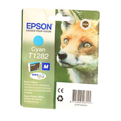 EPSON Ink T12824011 Cyan Page Yield Varies Pe