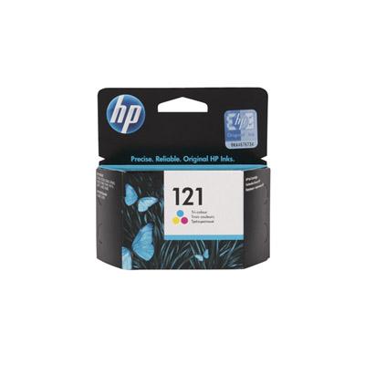 HP #121 Tri-Colour Ink Cartridge CC643HE