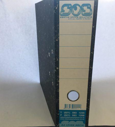 Leverarch File, 70mm, S.O.S