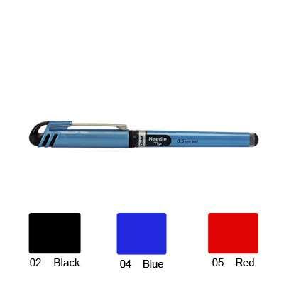 Pentel Energel Roller Pen, Needle Tip (Red)