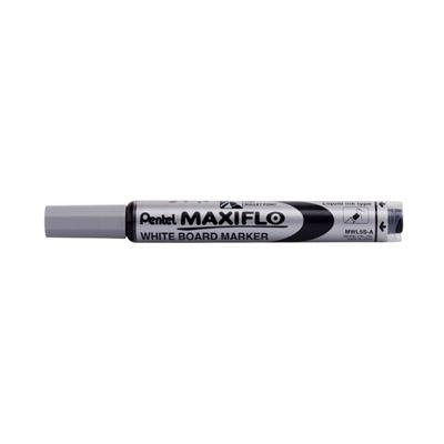 Pentel Maxiflow Whiteboard Marker, Erasable Ink (Black)