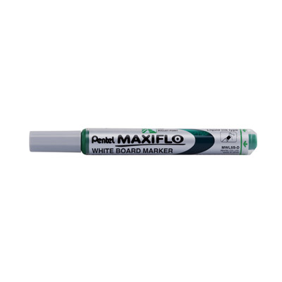 Pentel Maxiflow Whiteboard Marker, Erasable Ink (Blue)