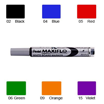 Pentel Maxiflow Whiteboard Marker, Erasable Ink (Violet)