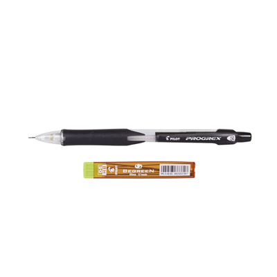 Pilot Progrex 0.5mm Clutch Pencil (Black)