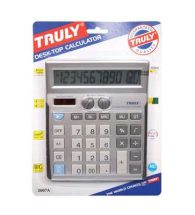 Truly Calculator Desk Top Calculator 2007A