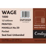 Envelopes Wage 95x121mm, Manilla, (ENP59SEP)