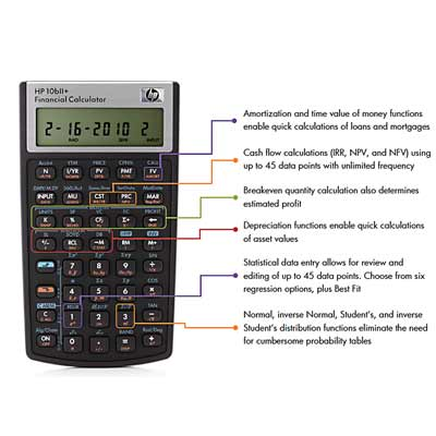 HP Plus Business Calculator 10B11
