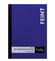 Pen Carbon Book A4 Plain 100pg JD555