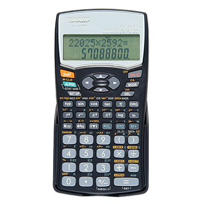 Sharp Scientific Calculator 12 Digit 272 Func