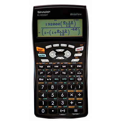 Sharp Scientific Calculator 12 Digit-338 Func