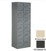12 Compartment Locker 1800Hx600Wx380D (Hammer Grey)