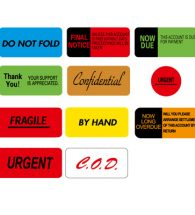 Instruction Labels, Self Adhesive, 15mmx40mm