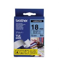 Brother Label Tape Brother P-Touch 18mm x 8m Blk&Blue TZ541