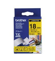 Brother Label Tape P-Touch TZe641 Blk&Yell