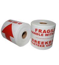 REDFERN Labels Fragile.Breekbaar 100mm x 150m