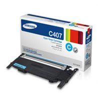 SAMSUNG Toner Clt-C407S Cyan 1000 Page Yield
