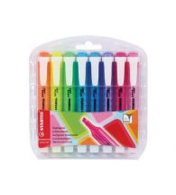 Stabilo Swing Highlighter, Set of 8, Assorted Colours