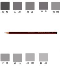 Staedtler 110 Tradition Pencil, Various Grades (2B)