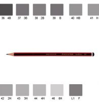 Staedtler 110 Tradition Pencil, Various Grades (4B)