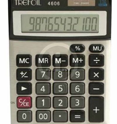 Trefoil 4606 12Dig Calculator